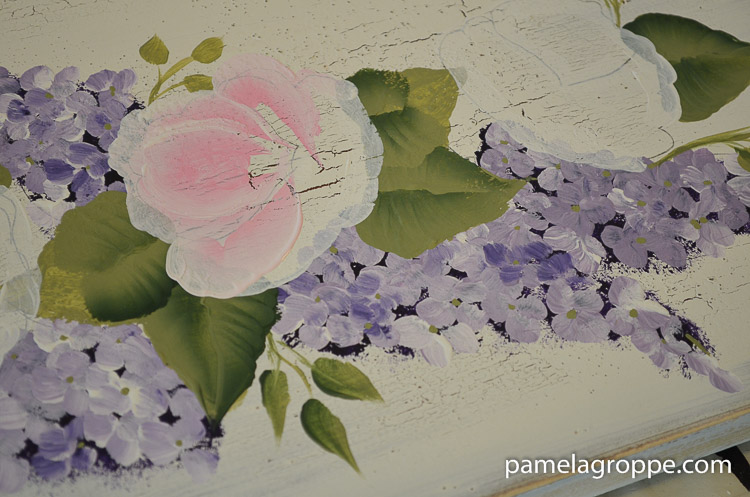 Paint Pretty Pink roses one stroke at a time, a favorite thing to paint is roses, great for beginner painters, easy instructions with tons of photos and a video too.