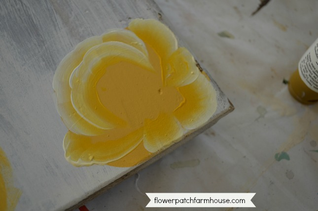 How to Paint Yellow roses one stroke at a time, step by step painting tutorial for beginners
