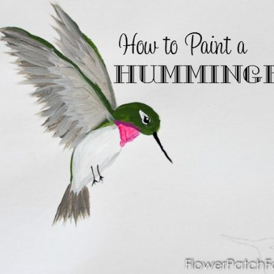 Paint a Hummingbird