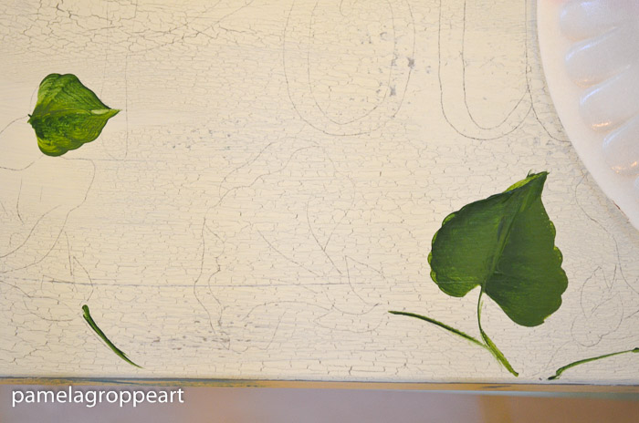 Outline of morning glory to be painted, How to paint Morning Glories