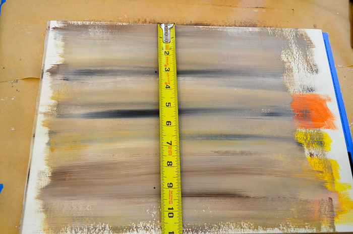 how to paint faux wood grain tutorial measure board width