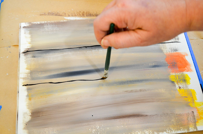 how to paint faux wood grain tutorial boards