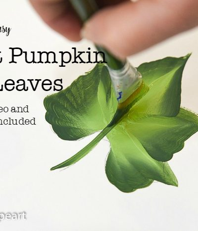How to Paint Pumpkin Leaves