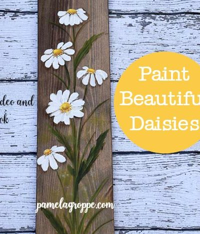 Paint Beautiful Daisies Workbook & Tutorial